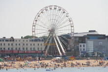 Margate, Ferris Wheel and Margate Beach, Kent © Rick Ryder